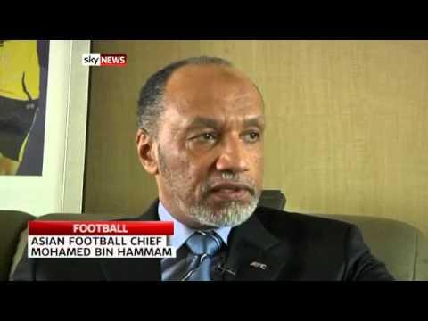 111Video  Bin Hammam to tackle Blatter