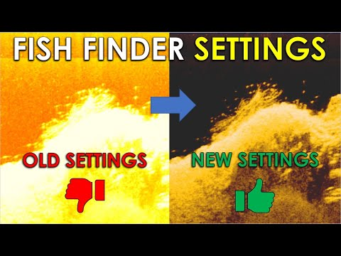 Best Settings To Find Bass On Fish Finder | Sonar Setup Lowrance Humminbird Garmin