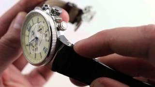 Ulysse Nardin Marine Chronograph Luxury Watch Review