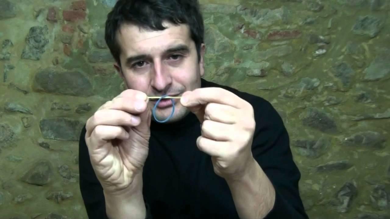 magia dell elastico telecinetico tutorial youtube