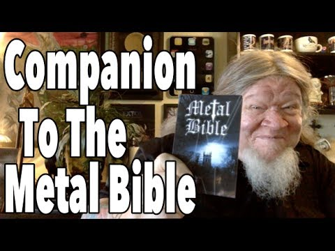 """Companion To The Metal Bible"" Pastor Bob DAILY!"
