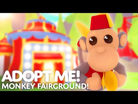????  Monkey Fairground Update ???????? Adopt Me! on Roblox