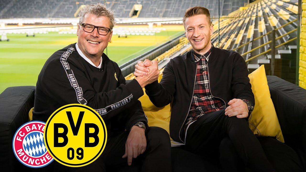 Babypinkeln mit dem Kapitän!  Feiertagsmagazin mit Marco Reus   FC Bayern - BVB