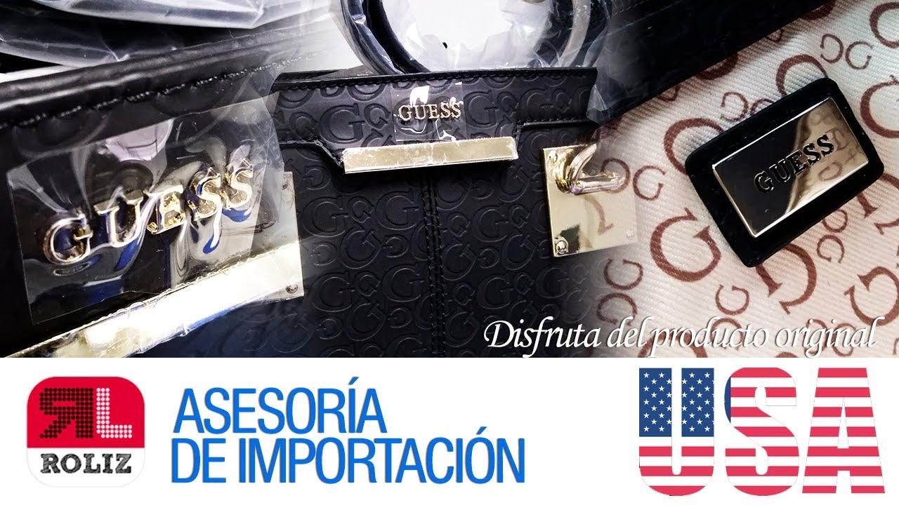 6d00b727 APRENDE A IMPORTAR DE USA A PERÚ - UNBOXING CARTERA GUESS│ROLIZPERÚ ...