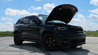 Family Car or TRACK DESTROYER?!   SRT8 Jeep Grand Cherokee Review