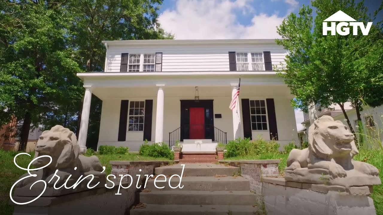A Southern Style Home Makeover Erin Spired Hgtv Youtube