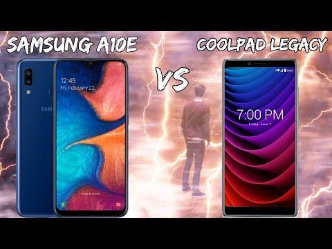 Samsung A10e VS CoolPad Legacy Speed Test// $100 Phone Battle