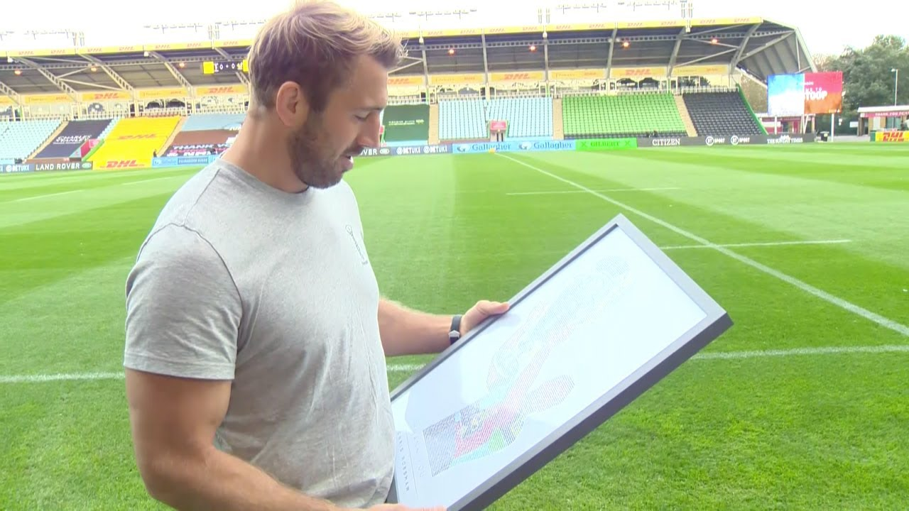 Watch the moment we surprised Chris Robshaw with a fan tribute