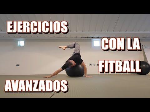 Los MEJORES ejercicios con PELOTA [FITBALL] Nivel avanzado