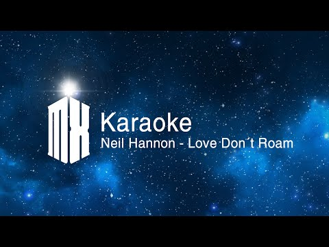 Neil Hannon - Love Don´t Roam (Doctor Who Karaoke)