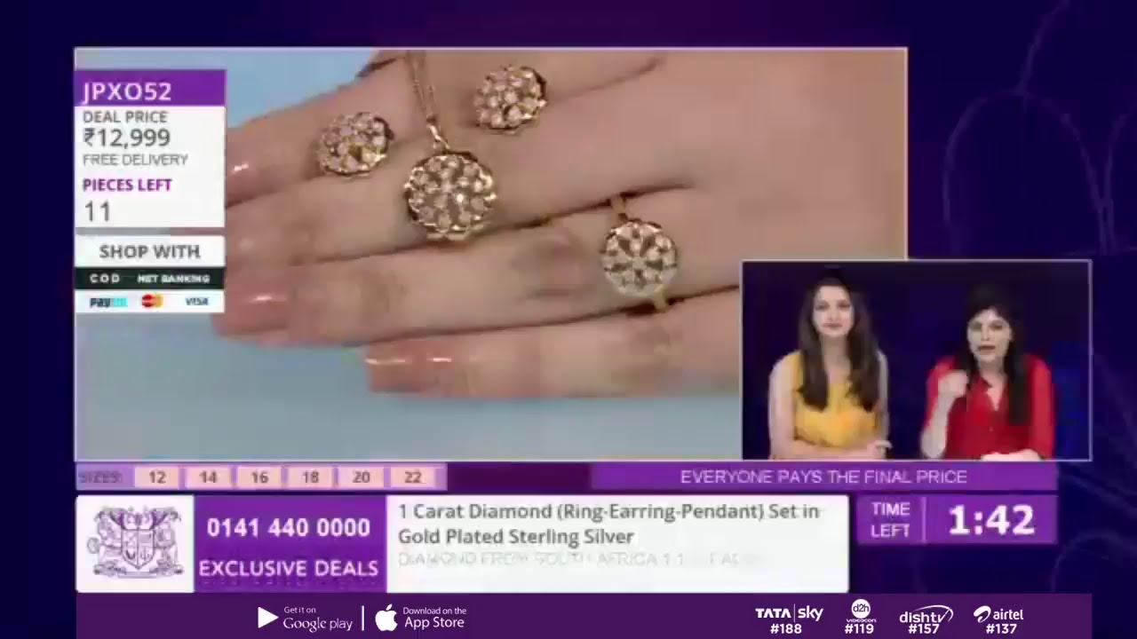 6f076be12 Shop Affordable Jewellery LIVE With Gemporia TV - 30th November - YouTube