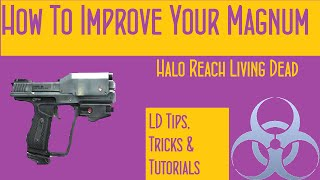 Halo Reach Living Dead: How to Improve Your Magnum Skills