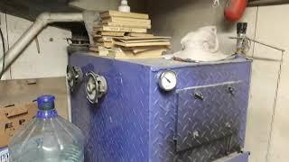 Отопление гаража.котёл на всем. Сделай сам.