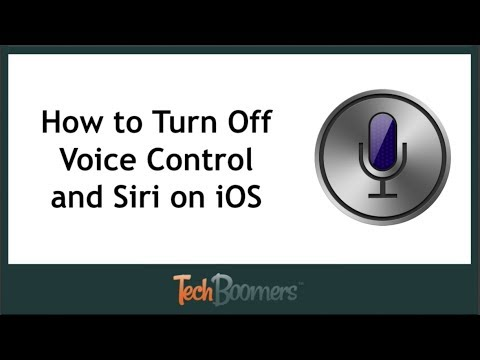 How to Turn Off Voice Control and Siri on iPhone and iPad