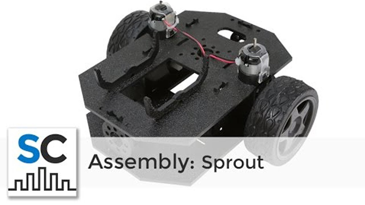 Sprout Runt Rover™ by Actobotics® Assembly Instructions #637160