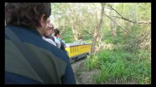 *Miniature Railway Crash* Bolebroke castle and lakes railway.