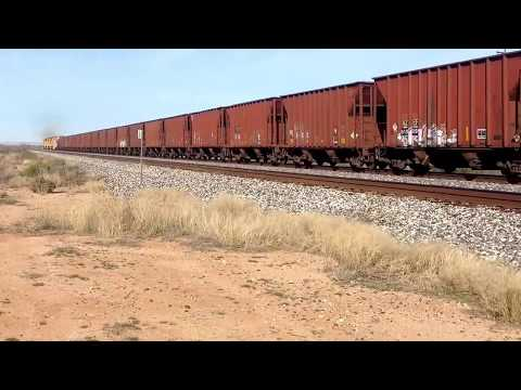 Arizona Eastern Railway Globe turn on the UP mainline out of Lordsburg NM with four B40-8s