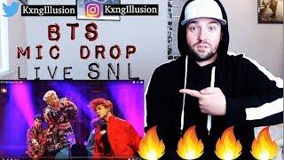 DROP THAT MIC HOMIES!! BTS - Mic Drop (Live SNL Performance)   REACTION