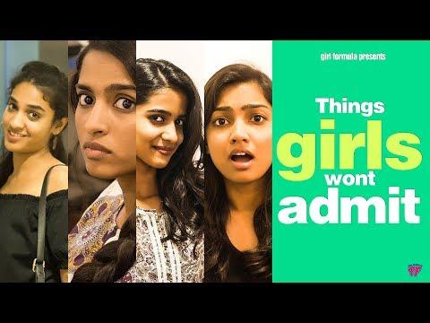 Things Girls Won't Admit | Girl Formula | Chai Bisket