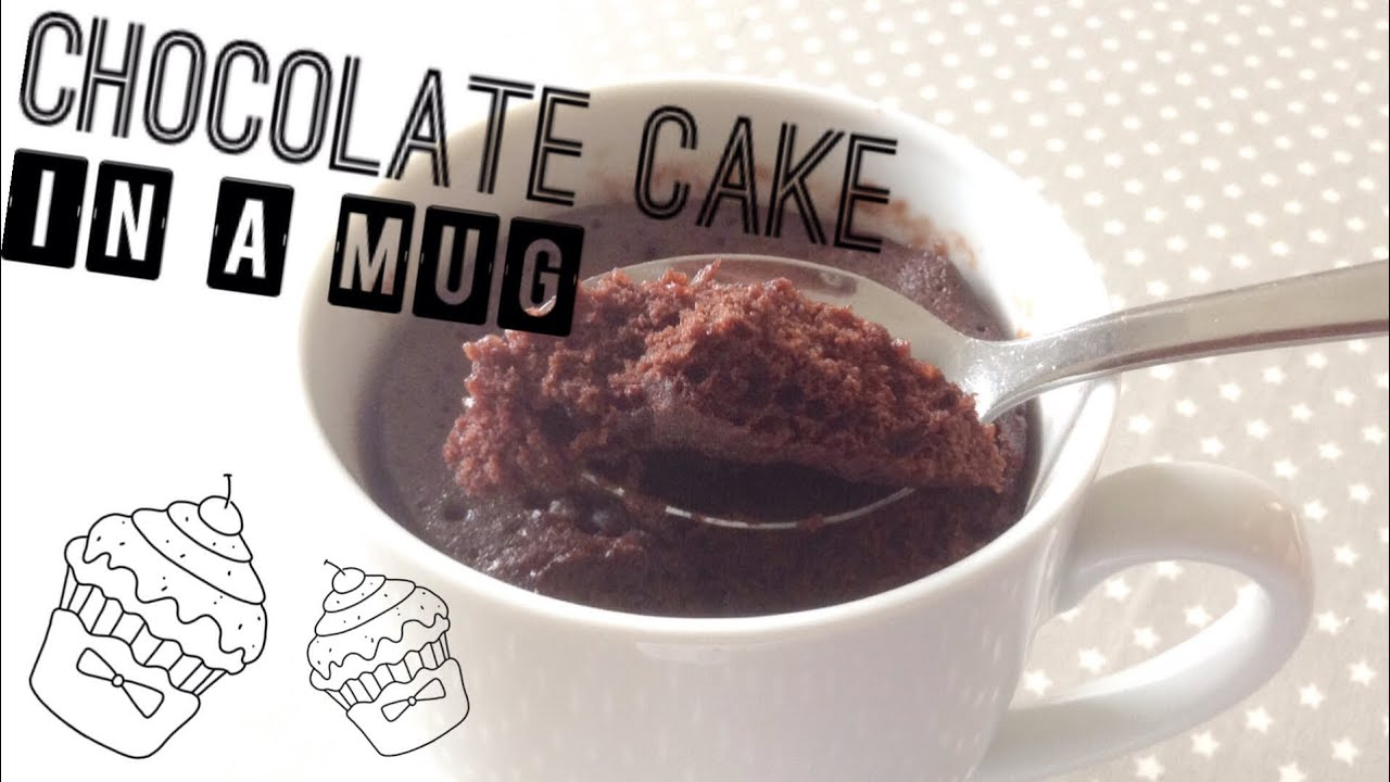 How to Make an Easy Microwave Chocolate (Cake in a Mug ...