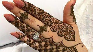 أجمل نقوش الحناء الهندي