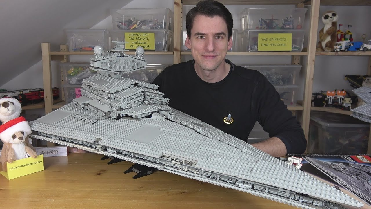 Der mächtige LEGO® Star Wars 10030 - Imperial Star Destroyer - UCS