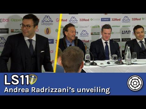 LS11 | Andrea Radrizzani's unveiling