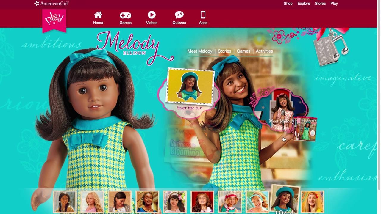 playing american girl games lea and melody youtube. Black Bedroom Furniture Sets. Home Design Ideas