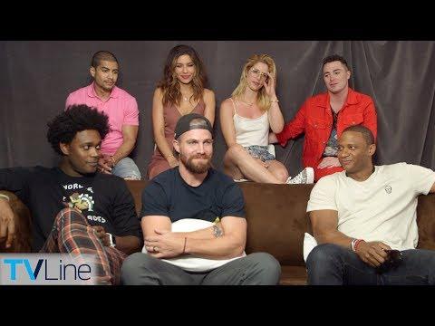 'Arrow' Cast Talks
