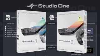 PRESONUS STUDIO ONE V3 : choisissez la version adaptée à vos besoins ( La Boite Noire )