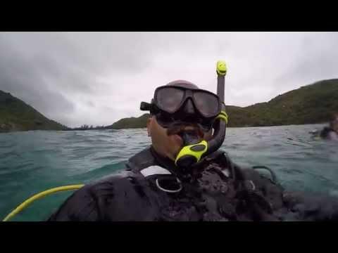 Diving in the Baie Ternay Marine National Park, Seychelles, Mahe