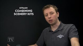 WHTV Tip of the Day - Combining Scenery Kits.
