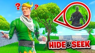 The *BEST* HIDE & SEEK Spot in Fortnite Battle Royale
