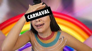 FIZ uma MAKE NÍVEL HARD PRO CARNAVAL!! vem ver como ficou