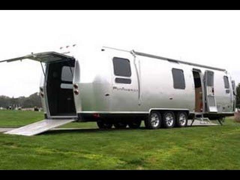 2010 Airstream Panamerica 34 Toy Hauler Youtube