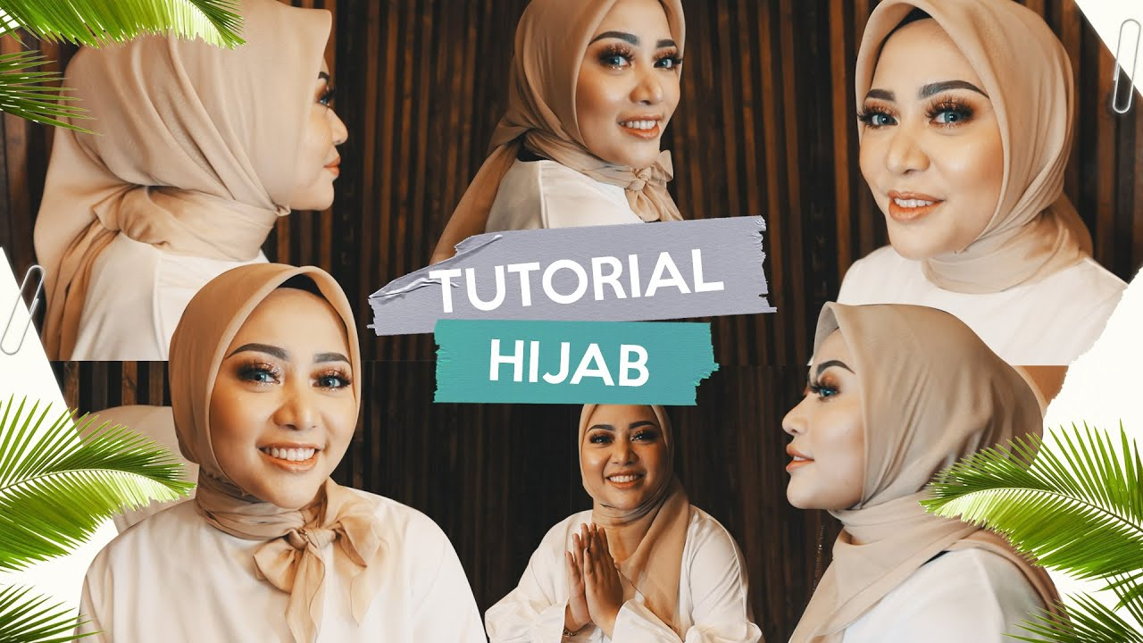 Tutorial 3 Looks Of Clean Hijab Youtube
