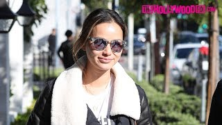 Jamie Chung Steps Out With Friends For Lunch At Gracias Madre Vegan Restaurant On Melrose Avenue