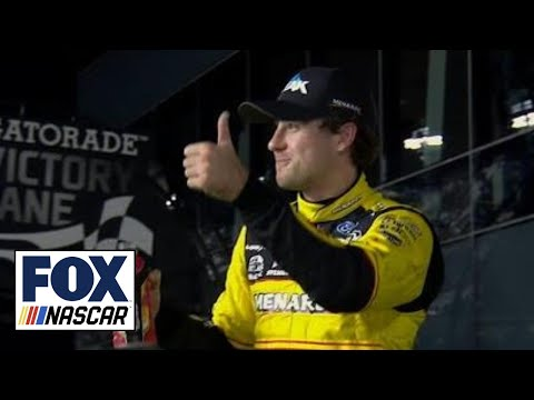 Ryan Blaney wins Duel #1 | 2018 DAYTONA 500 | FOX NASCAR