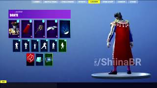 New LEAKED DANTE SKIN With SIX STRING PICKAXE Coming To FORTNITE