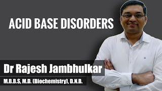 Acid base disorders with case discussion