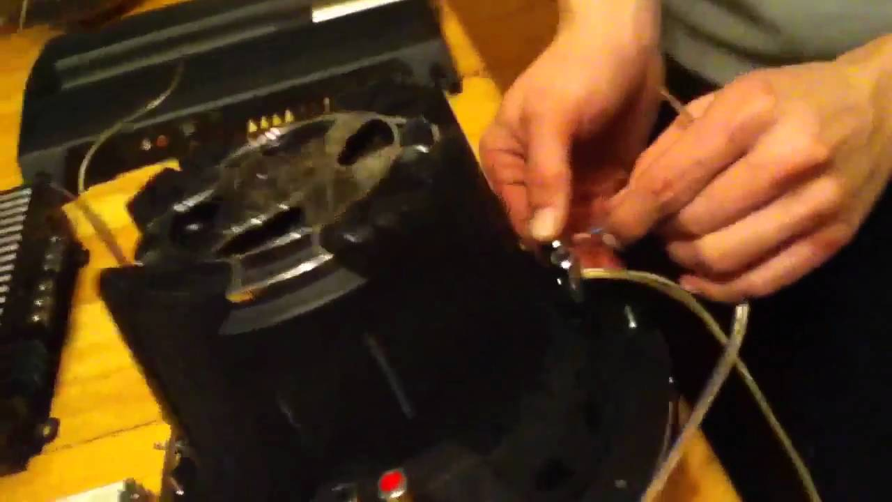 How To Wire 2 Dvc 4ohm Subwoofers Bridged 2 Ch  Amp  Watch