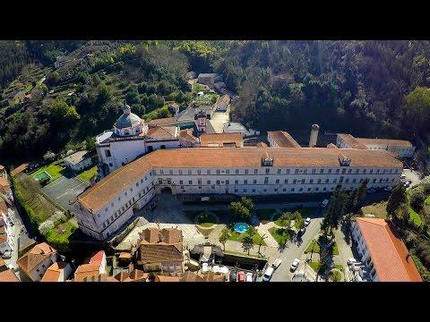 Lorvão Monastery aerial view - Penacova