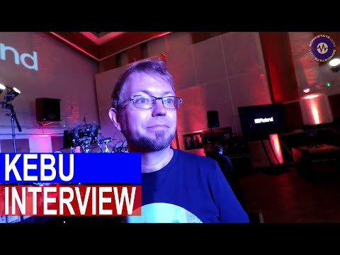 Interview: Kebu At Abbey Road Roland Launch