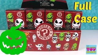 Funko Nightmare Before Christmas Mystery Minis Full Case Unboxing | PSToyReviews