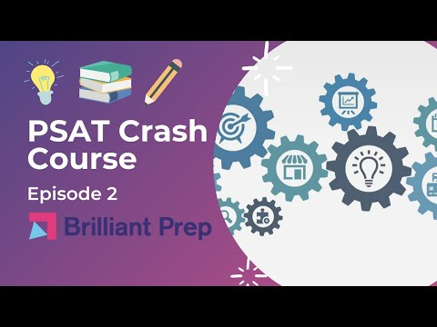Episode 2: Solve Algebra Directly, New PSAT Math (No Calculator)