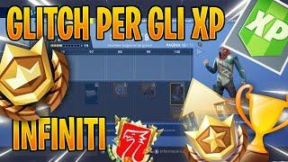 GLITCH FORTNITE PER FARE XP INFINITI!