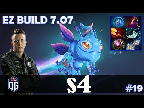 s4 - Puck MID | EZ BUILD 7.07 | Dota 2 Pro MMR  Gameplay #19