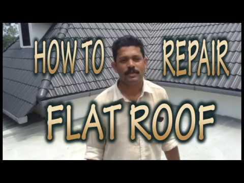 How To Repair Flat Roof Kochi Kerala Waterproofing Kochi Kerala 93886 27972 Eben Ezer Interiors Youtube