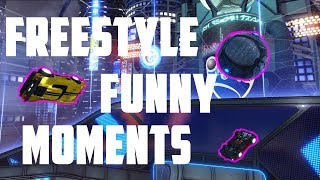 FREESTYLE FUNNY MOMENTS (Rocket League)