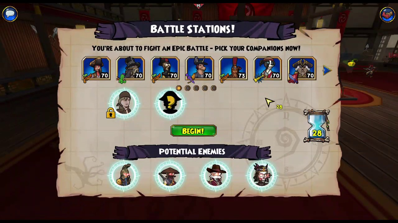 Pirate101 - Nefarious Five Musketeer Solo